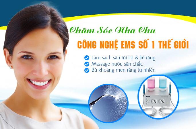 Lấy cao răng Mini Piezon công nghệ Thụy Sĩ