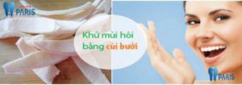 Phương pháp chữa hôi miệng bằng vỏ bưởi an toàn hiệu quả 1