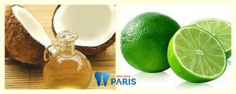 Đánh răng bằng dầu dừa làm sạch cao răng khử mùi hôi miệng 4