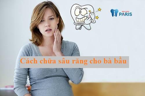 cách trị sâu răng cho mẹ bầu