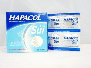 Đau răng uống hapacol nên hay không nên?