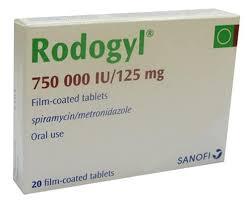 thuốc chữa đau răng rodogyl